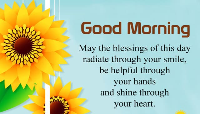 Morning Blessings Quotes