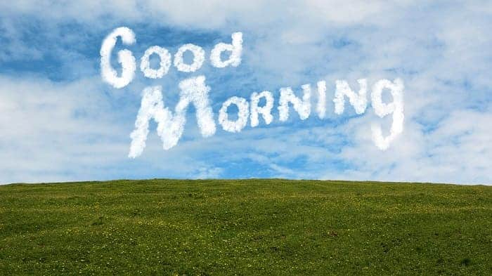 good morning msg for her