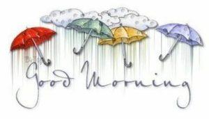 good morning rain