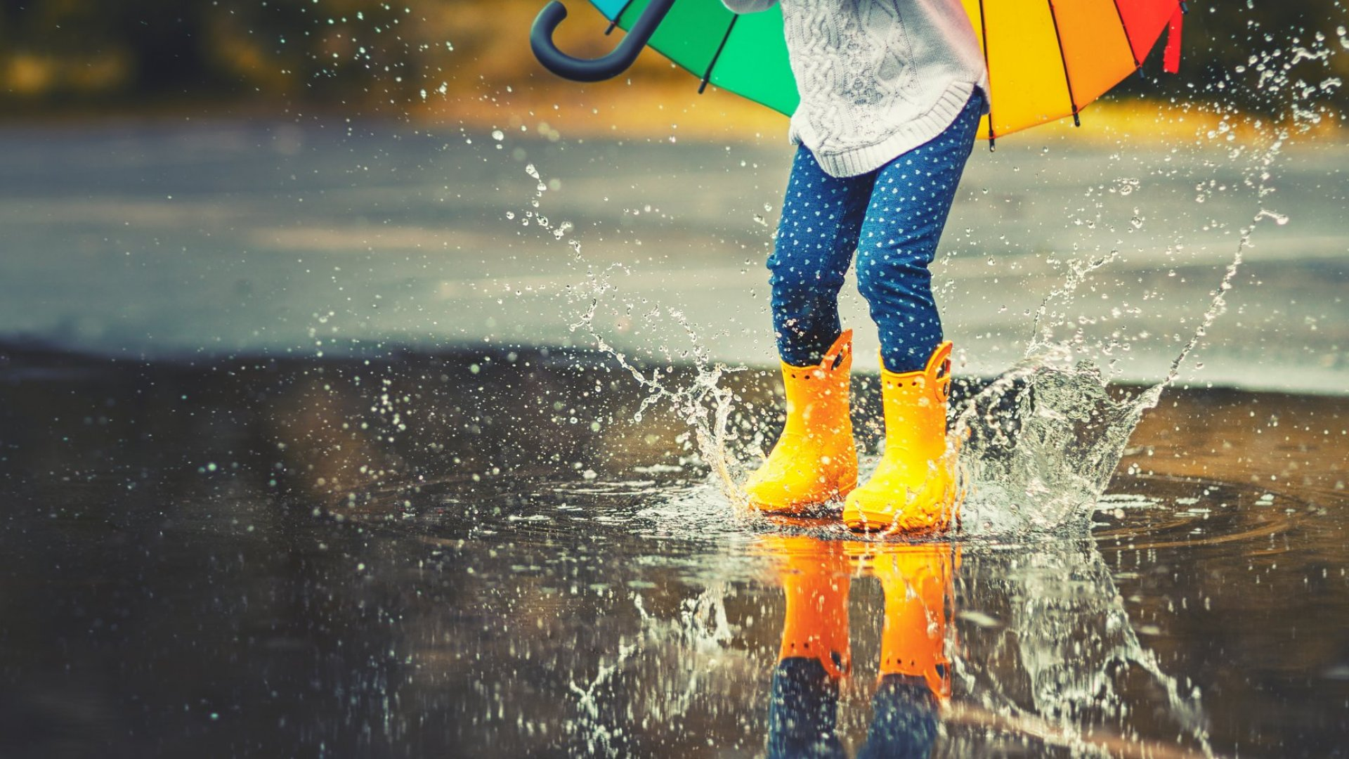rainy messages